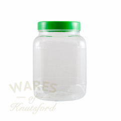 2667ml Square Plastic PET Jar