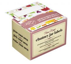 100 x Jar Preserving Labels - Designed for use as Chutney Labels