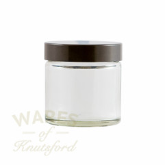 60ml Clear Glass Cosmetic Jars - bargain pack (192 including lids)