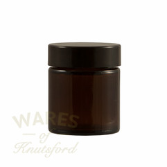 30ml Amber Glass Cosmetic Jars - bargain pack (192 including lids)