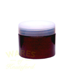 50ml Red Glass Cosmetic Jars - bargain pack (192 including lids)