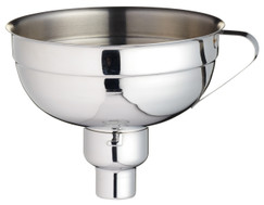 14cm Stainless Steel Adjustable Jam Funnel Preserving Equipment