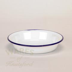20cm Falcon Round Enamel Pie Dish