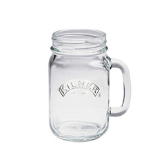 Kilner Branded  Drinking Jar 400ml (sold in packs of 6/12/24/36)