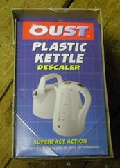 Plastic Kettle Descaler
