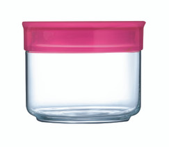 0.5 Litre Storage Jar with Raspberry Lid