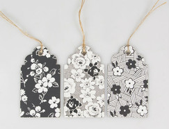 Parisian Floral Gift Tag Set of 15
