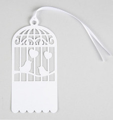 Birdcage  Gift Tag Set of 10