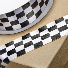Chequered Flag Ribbon