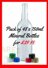 ** special offer** 48 x 750ml Mineral Bottles for only £29.95