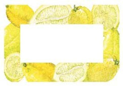 Lemon Design Jam Jar Preserving Labels 50mm x 70mm Suitable for all but the smallest jars and lovely for cakes, pies and everything lemon
