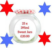 25 x 395 ml Sweet Jar