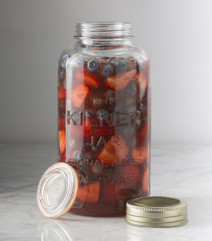 Kilner Screw Top Jar filled