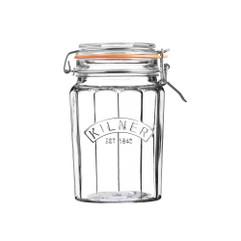 Kilner 950ml Faceted Jar