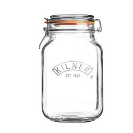 Kilner 2 Litre Square Clip Top Jar