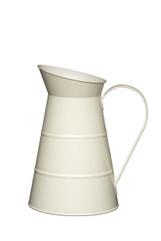Cream enamel living nostalgia water jug