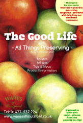 Free Copy of The Good Life Magazine Autumn/Winter 2017 Edition