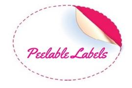 Peelable Jam Labels - Redcurrants, Gooseberry's, Rosehips, Blackberries and Blackcurrents