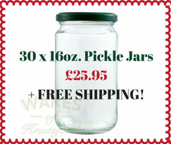 480ml Jam Jar or Pickle Jar with  a heat sealable lid in a choice of 5 different colours.
