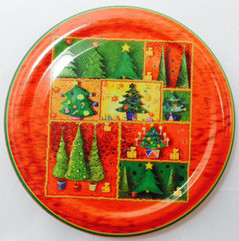 *SPECIAL OFFER* 66mm lids - Christmas Trees