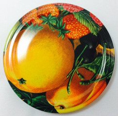 *SPECIAL OFFER* 66mm lids -  Oranges Design