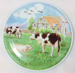 *SPECIAL OFFER* 82mm lids -  Farmyard Design