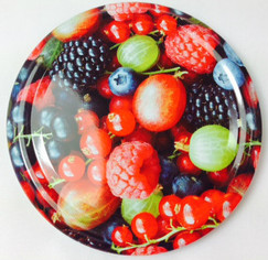 *SPECIAL OFFER* 66mm lids - Berries Design