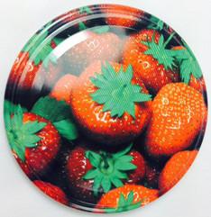 *SPECIAL OFFER* 66mm lids - Strawberry Design