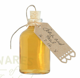 The 50ml Gladstone bottle with cork.   Our no.1 seller for wedding favours and gifts.   Don't forget the labels!!