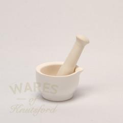 8.5 cm Ceramic Mortar and Pestle