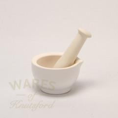 10cm Ceramic Mortar & Pestle