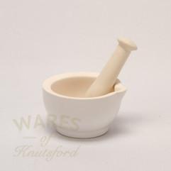 12cm Ceramic Mortar & Pestle