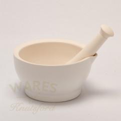15.7cm Ceramic Mortar & Pestle
