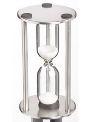 Steel 3 Minute Sand Timer