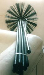 Chimney Sweep - Bassine brush & rod set