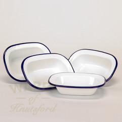 Falcon Enamel Pie Dish (set of 4) Oblong 16cm