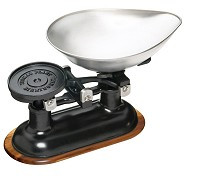 Traditional Balance Scales - Black