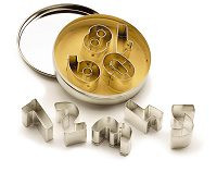 Numeral Cookie Cutter Set
