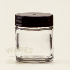30ml Clear Glass Cosmetic Jars - bargain pack (192 including lids)