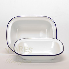 Falcon Enamel Pie Dish (Set of 2) 24cm, 26cm