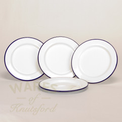 20cm Falcon Enamel Flat Plate (Set of 4)