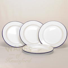 26cm Falcon Enamel Flat Plates (Set of 4)