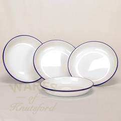 Falcon Enamel Rice Plate (Set of 4) 20cm