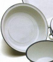 Set of 3 Falcon Round Enamel Pie Dishes (18cm, 20cm, 22cm)