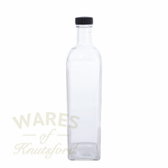 750ml Square Marasca Bottle