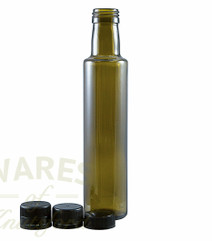 250ml Dorica Green Glass Oil Bottle