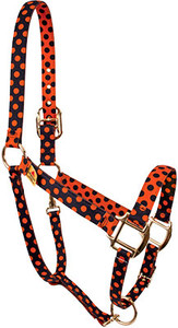 Halloween Polka High Fashion Horse Halter