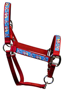 Santa and Snowman Equine Elite Halter