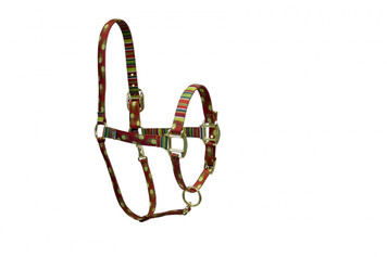 Holiday Paisley High Fashion Horse Halter