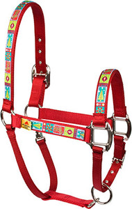 Retro Christmas Equine Elite Halter